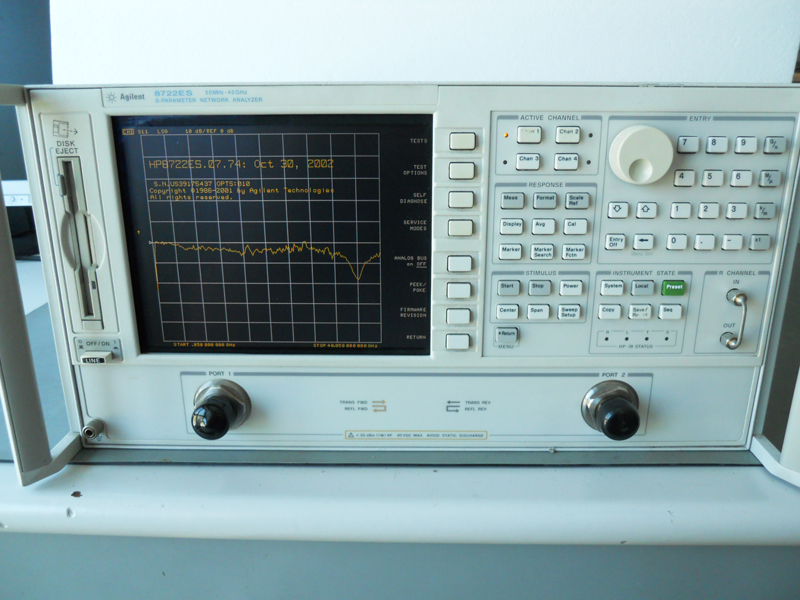 Agilent Network Analyzer Calibration Kit : Agilent es ghz vector network analyzer opt ebay